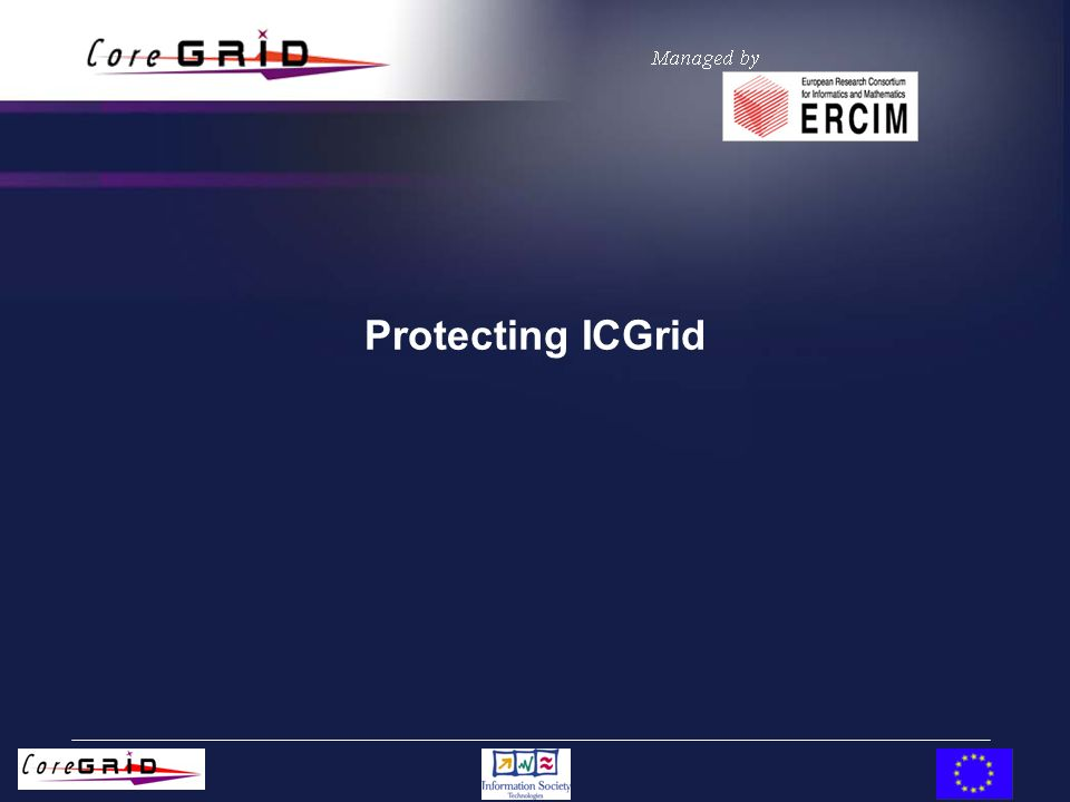 Protecting ICGrid