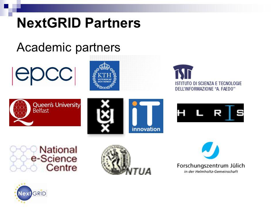 NextGRID Partners Academic partners