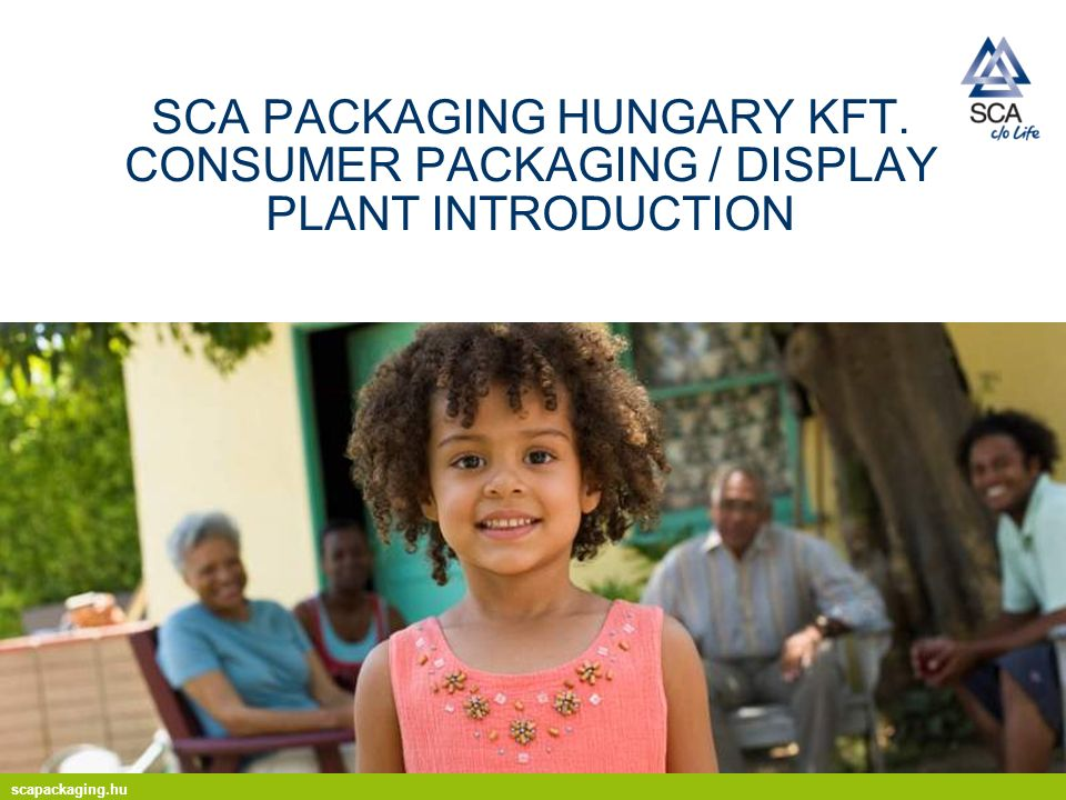 scapackaging.hu 2 part of the SCA Group one of Europes leading suppliers of packaging solutions Europes second largest producer of containerboard paper worldwide 2010 sales amounted to EUR 3.1 bn SCA Packaging Europe in brief