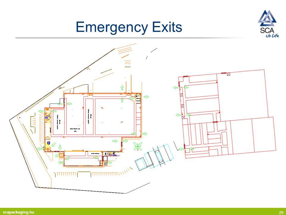 scapackaging.hu 29 Emergency Exits