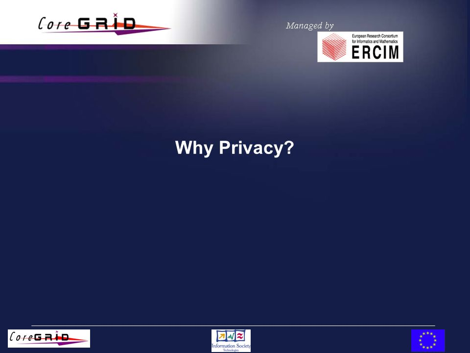 Why Privacy?