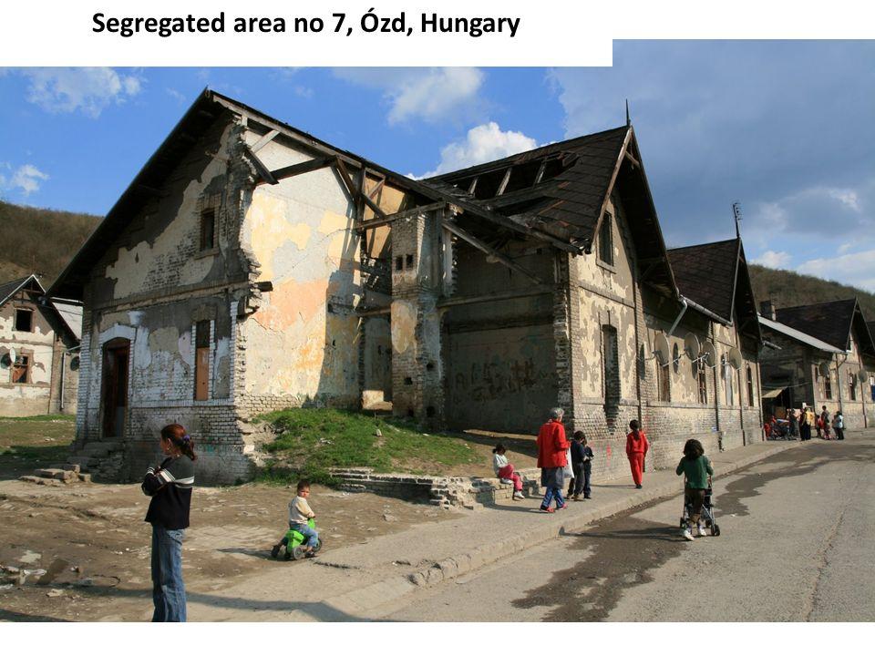 Segregated area no 7, Ózd, Hungary