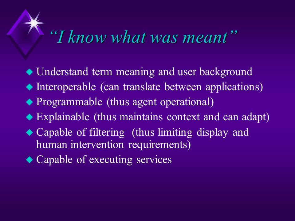 Future: Rich Information Source for Agent Manipulation/Interpretation HumanAgent