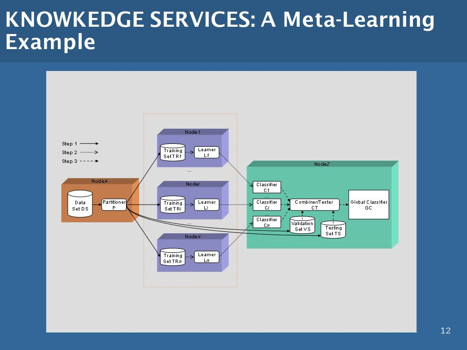 12 KNOWKEDGE SERVICES: A Meta-Learning Example