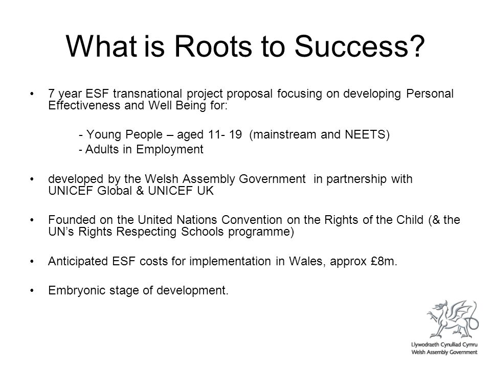 What is Roots to Success.