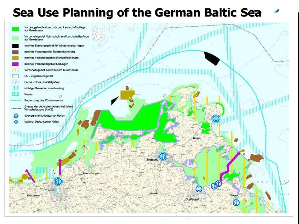 BlackSea Region Meeting Varna 12.03.07 Sea Use Planning of the German Baltic Sea