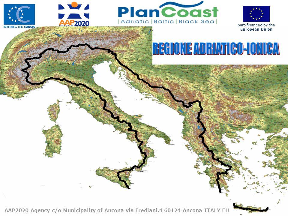 10 AAP2020 Agency c/o Municipality of Ancona via Frediani,4 60124 Ancona ITALY EU part-financed by the European Union