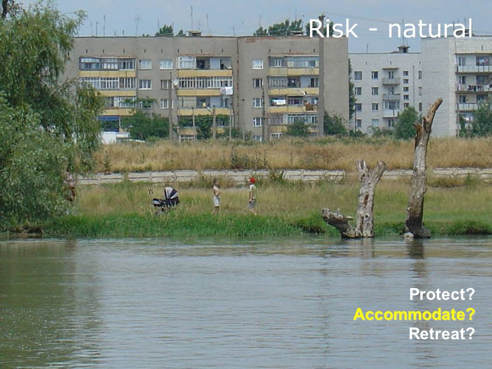 Risk - natural Protect Accommodate Retreat