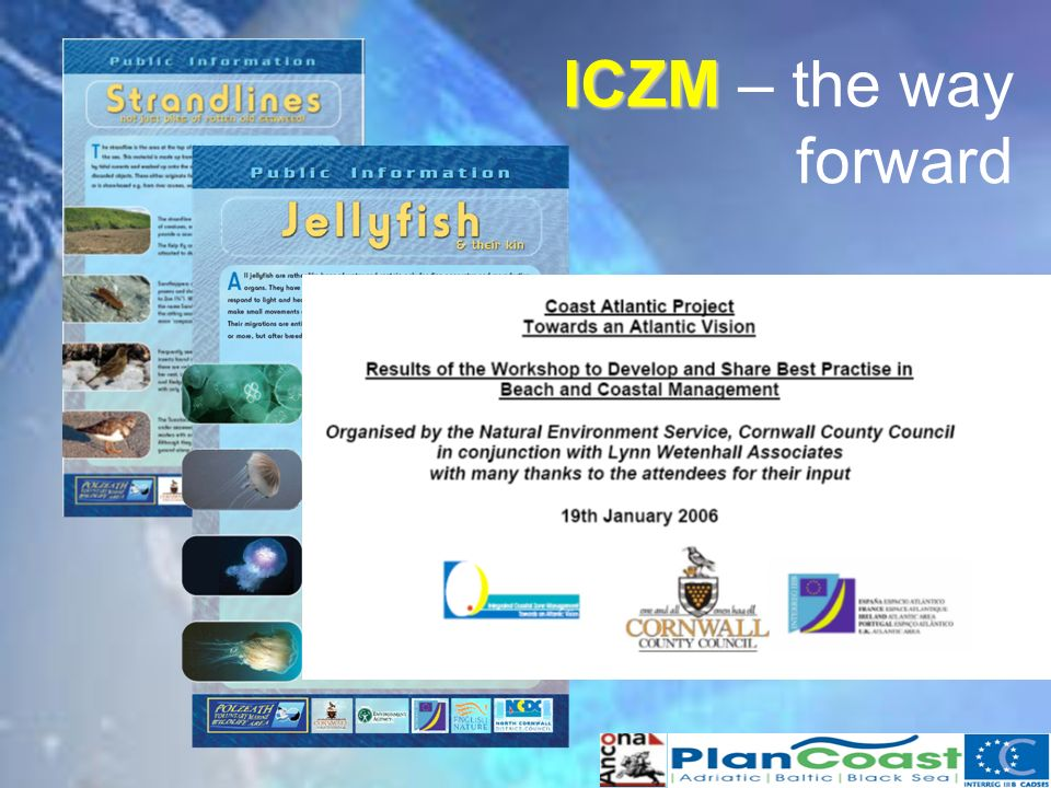 ICZM ICZM – the way forward