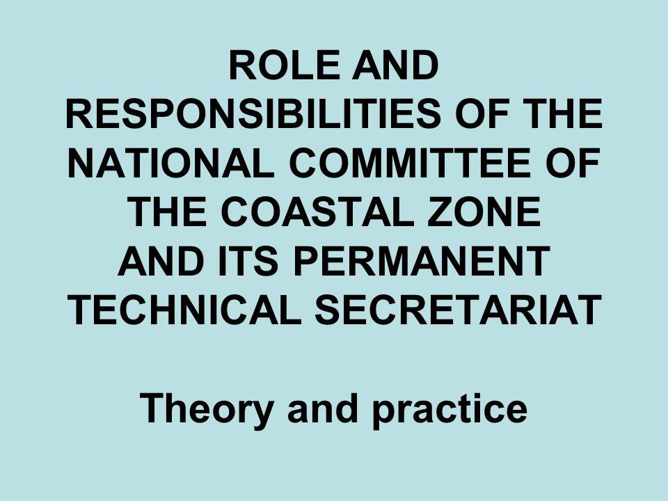 ICZM legal framework Emergency Ordinance No.