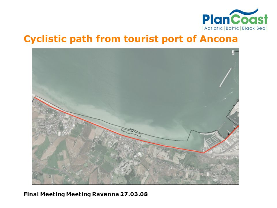Final Meeting Meeting Ravenna Cyclistic path from tourist port of Ancona
