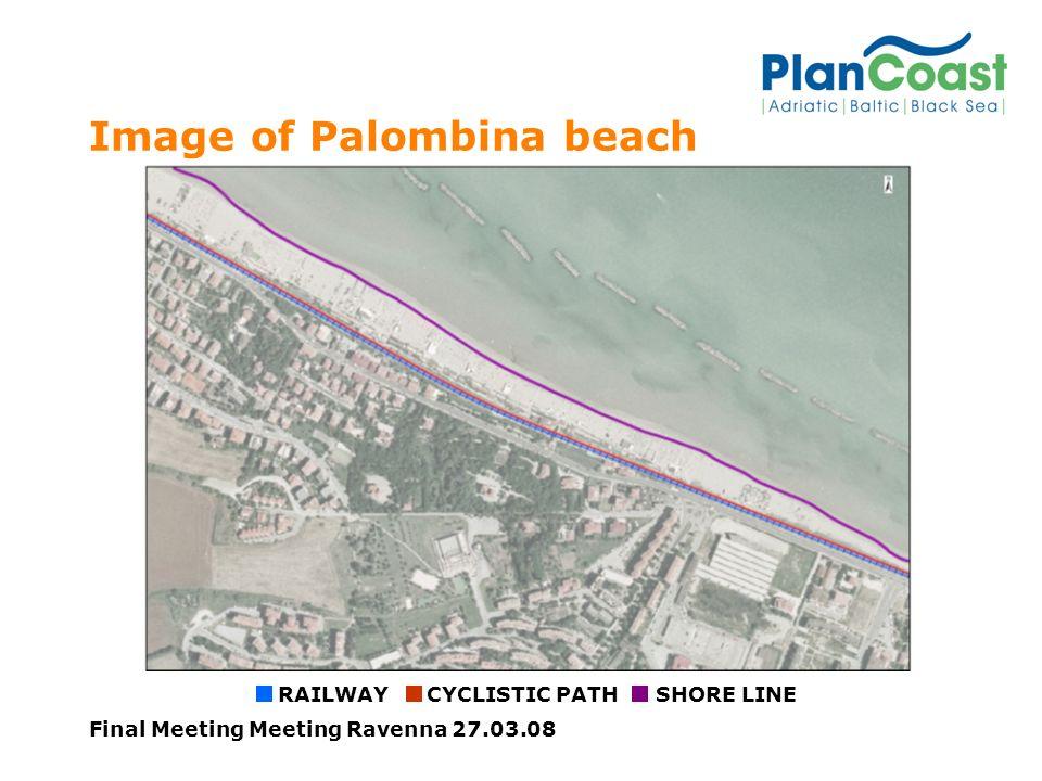 Final Meeting Meeting Ravenna 27.03.08 Image of Palombina beach RAILWAYCYCLISTIC PATHSHORE LINE