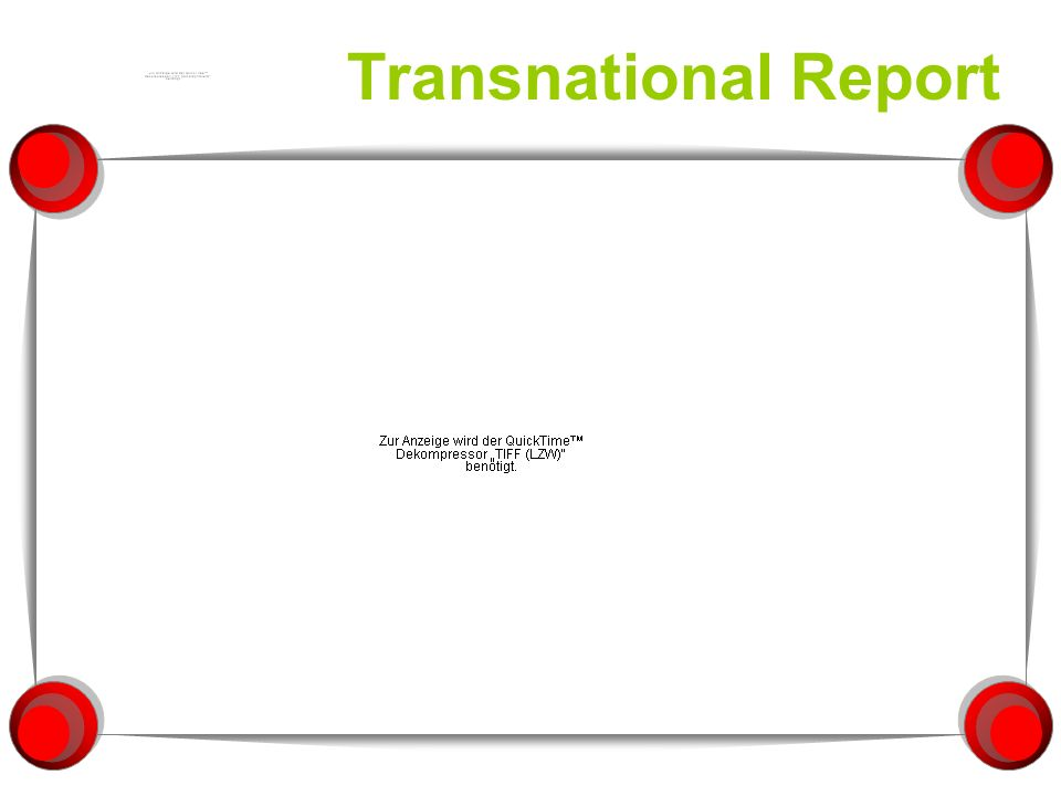 Transnational Report