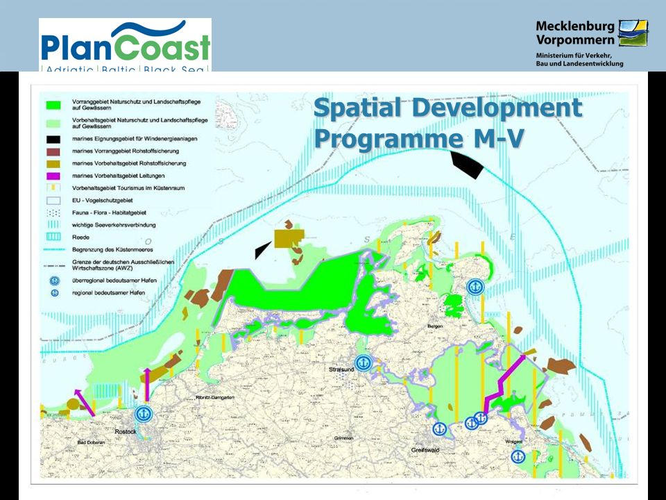 Constanta, May 20077 Spatial Development Programme M-V