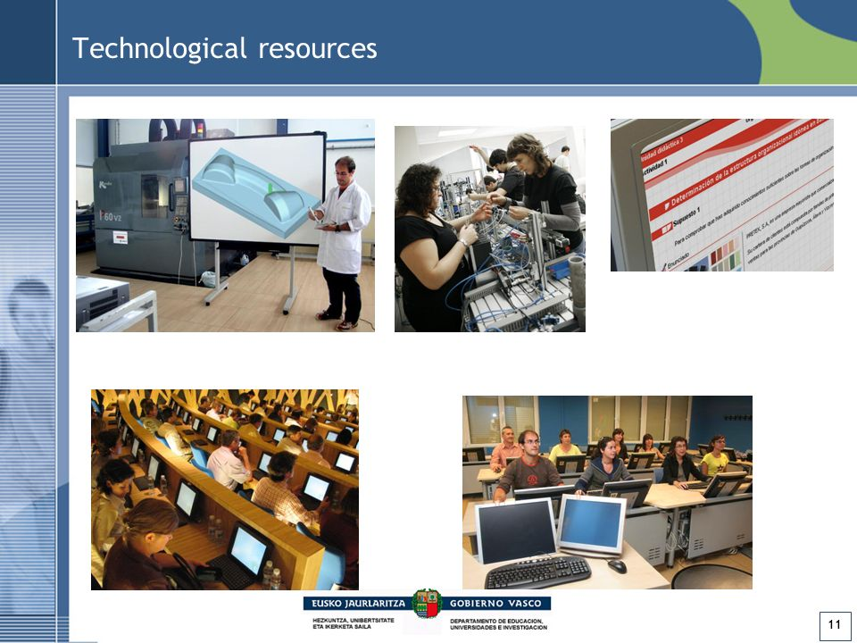 11 Technological resources