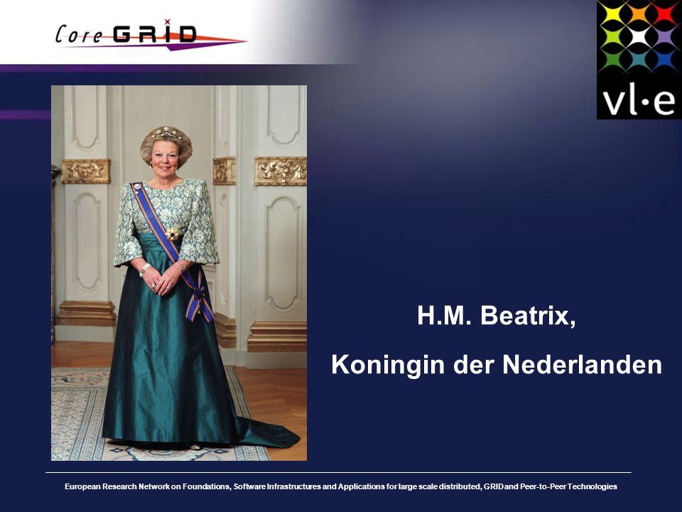 H.M. Beatrix, Koningin der Nederlanden