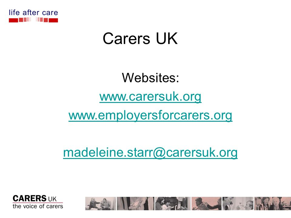 Carers UK Websites: