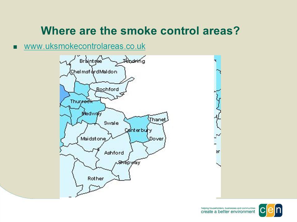 Where are the smoke control areas www.uksmokecontrolareas.co.uk