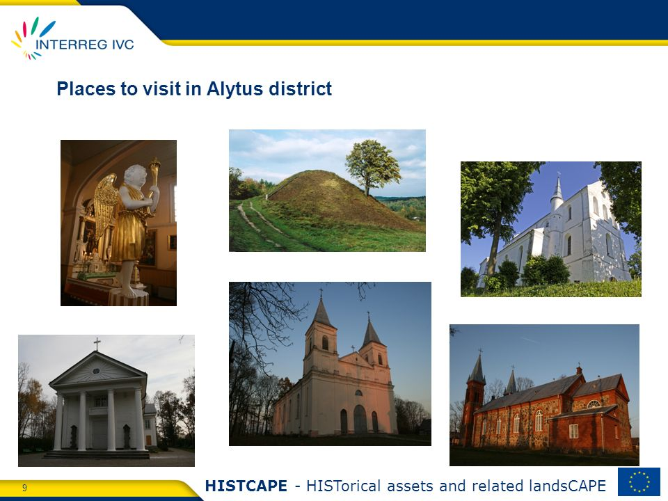 9 HISTCAPE - HISTorical assets and related landsCAPE Places to visit in Alytus district