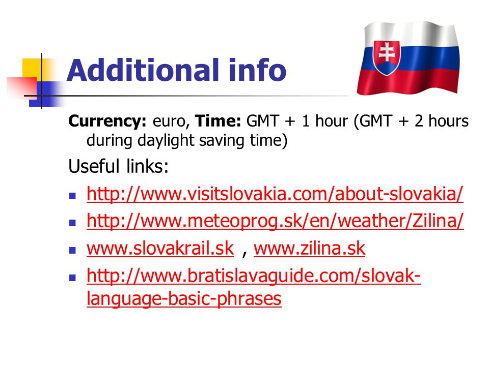 Žilina´s map location Distances: BA – Zilina (ZA) – 200km Prague – ZA – 400 km Katowice – ZA – 150km Katowice Prague