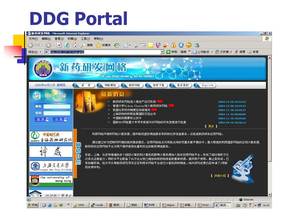 DDG Portal