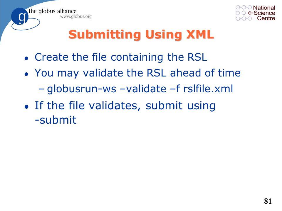 80 Resource Specification Language /bin/echo /tmp 12 PI 3.141 /dev/null stdout stderr