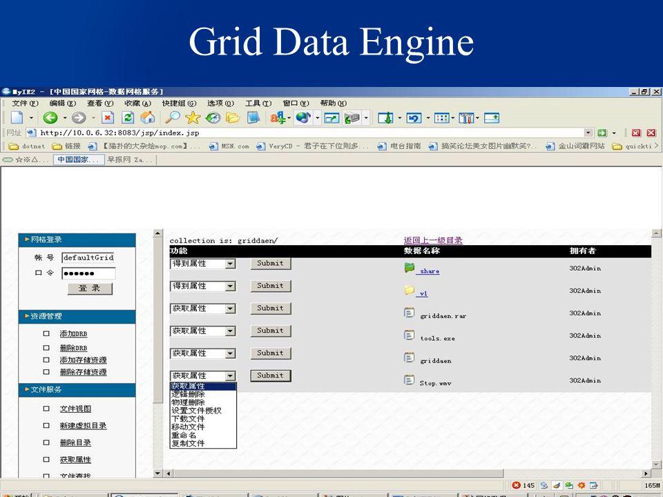 Grid Data Engine