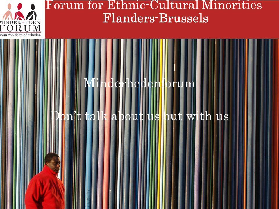 Forum of Ethnic-Cultural Minorities Thank you