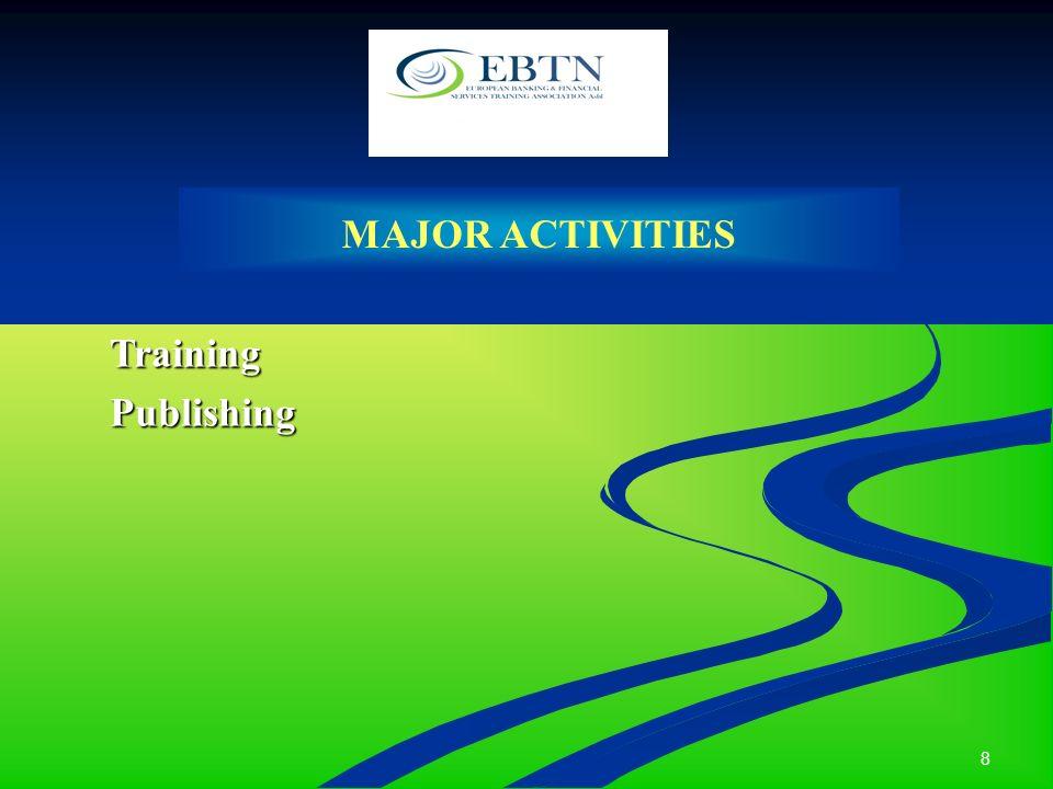 8 MAJOR ACTIVITIES TrainingPublishing