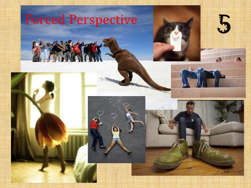 5 Forced Perspective