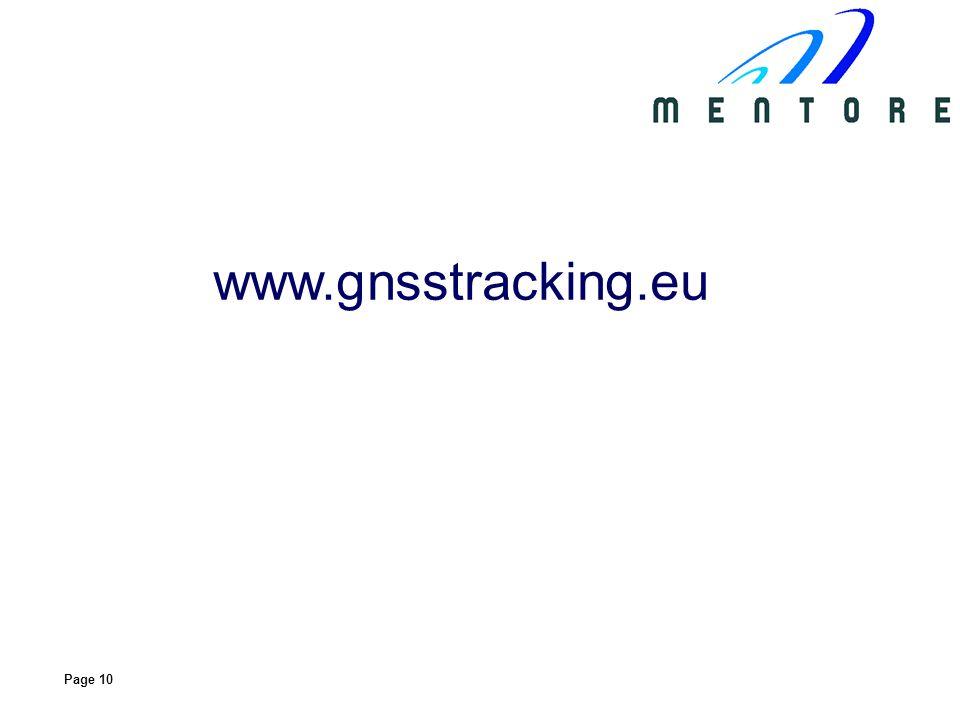 Page 10 www.gnsstracking.eu