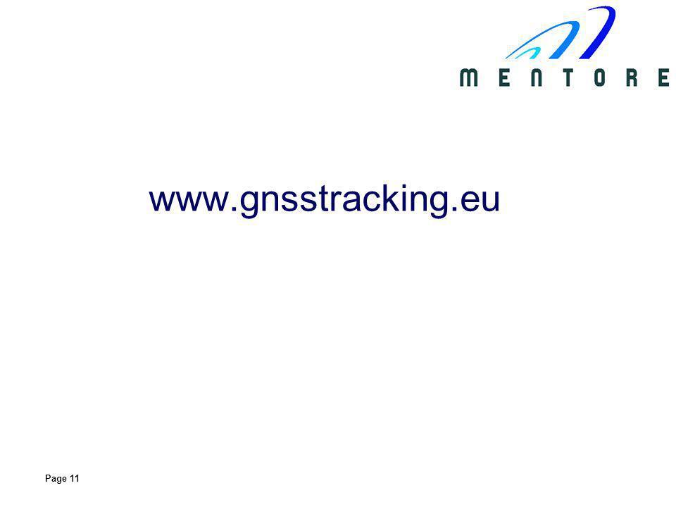 Page 11 www.gnsstracking.eu