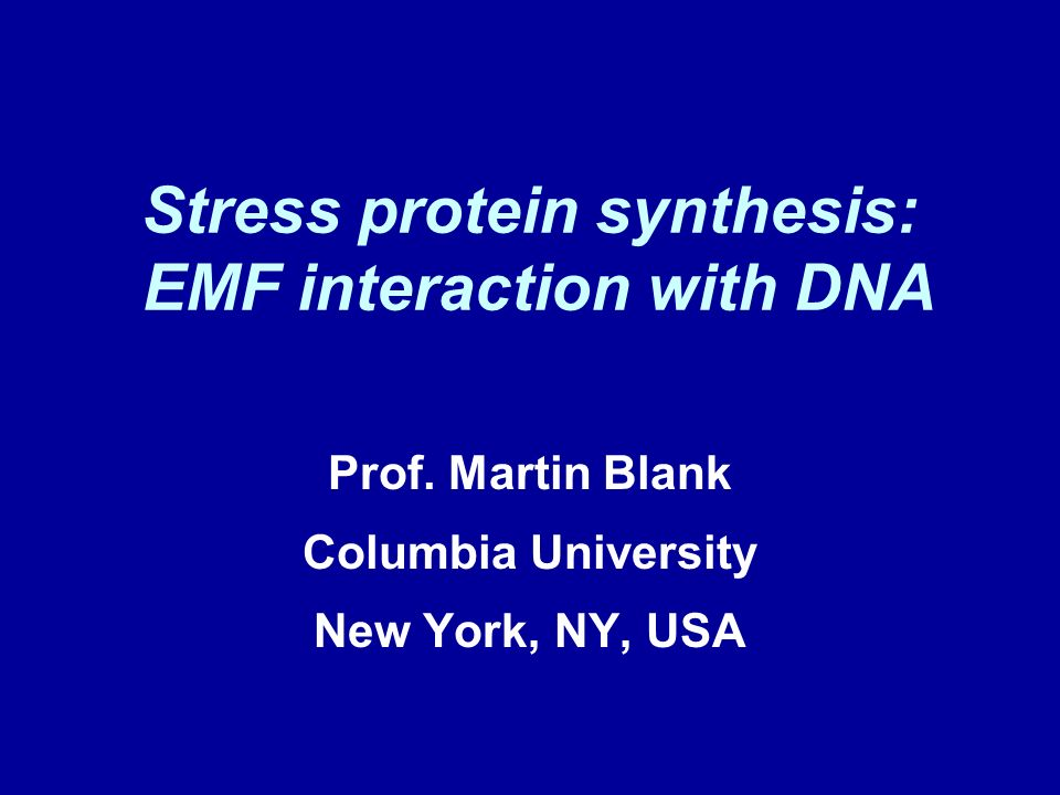 Cancer: DNA, EMF DNA damage believed to initiate cancer Exposure to EMF increases risk of cancer EMF interacts with DNA (protein synthesis, strand breaks) to cause changes, damage Specific DNA sequences interact with EMF mutations in DNA repair genes increase risk of leukemia OR= 4.39 Yang et al, Leukemia & Lymphoma, 2008)