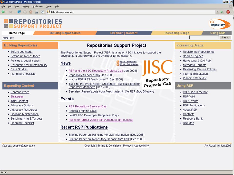 RSP Page