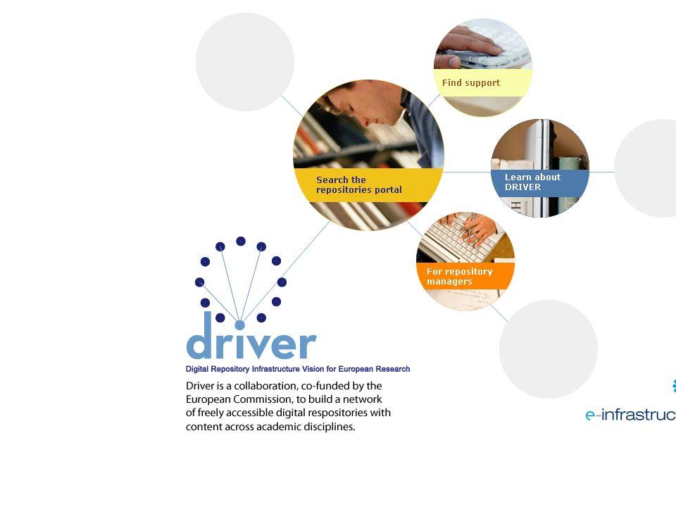 DRIVER More Information http://www.driver-support.eu helpdesk@driver-support.eu