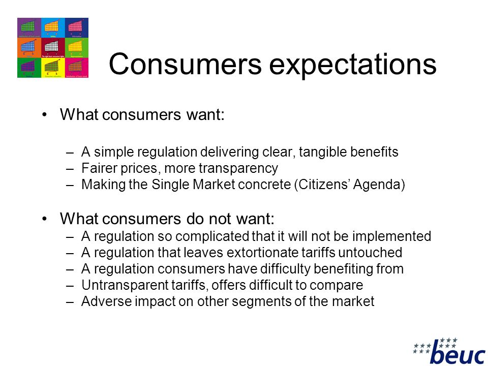 3 Why a retail regulation.