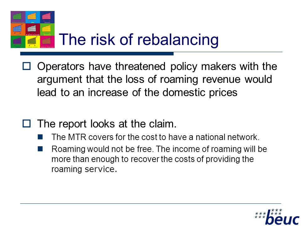 8 Demand 1: Low retail caps BEUC calls for low retail prices in line with other international telecom services.