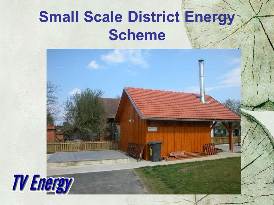 Small Scale District Energy Scheme