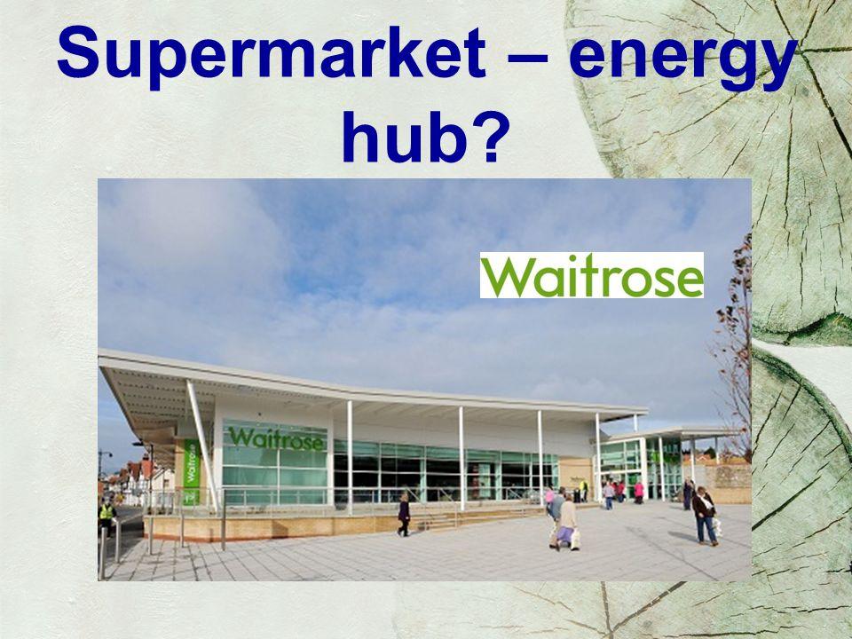 Supermarket – energy hub?