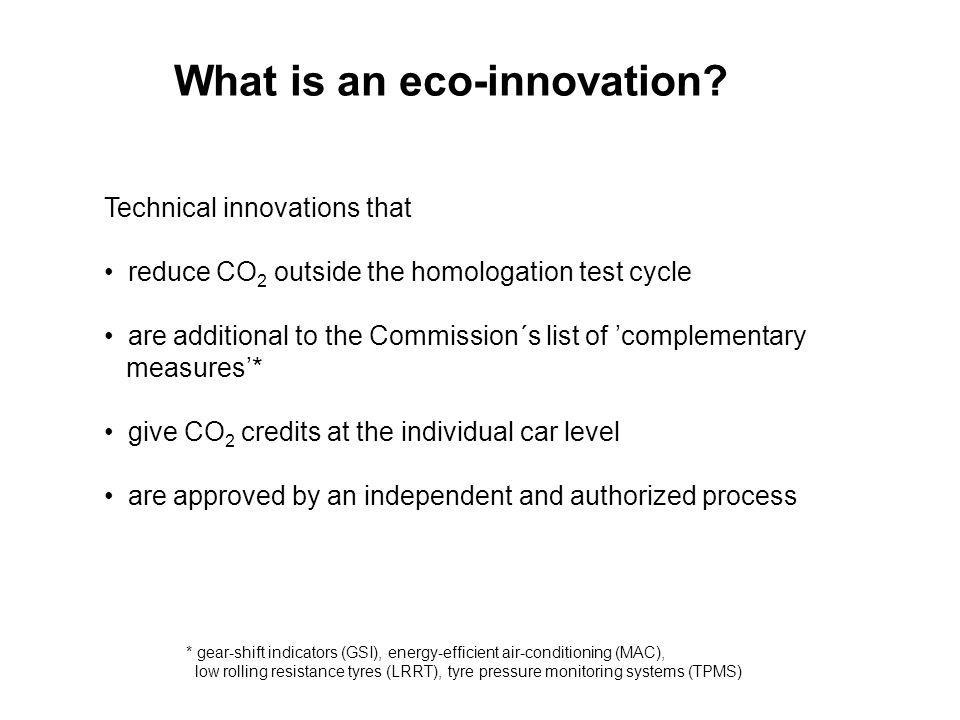 What is an eco-innovation.
