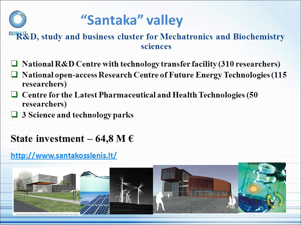 Santaka valley R&D, study and business cluster for Mechatronics and Biochemistry sciences National R&D Centre with technology transfer facility (310 r