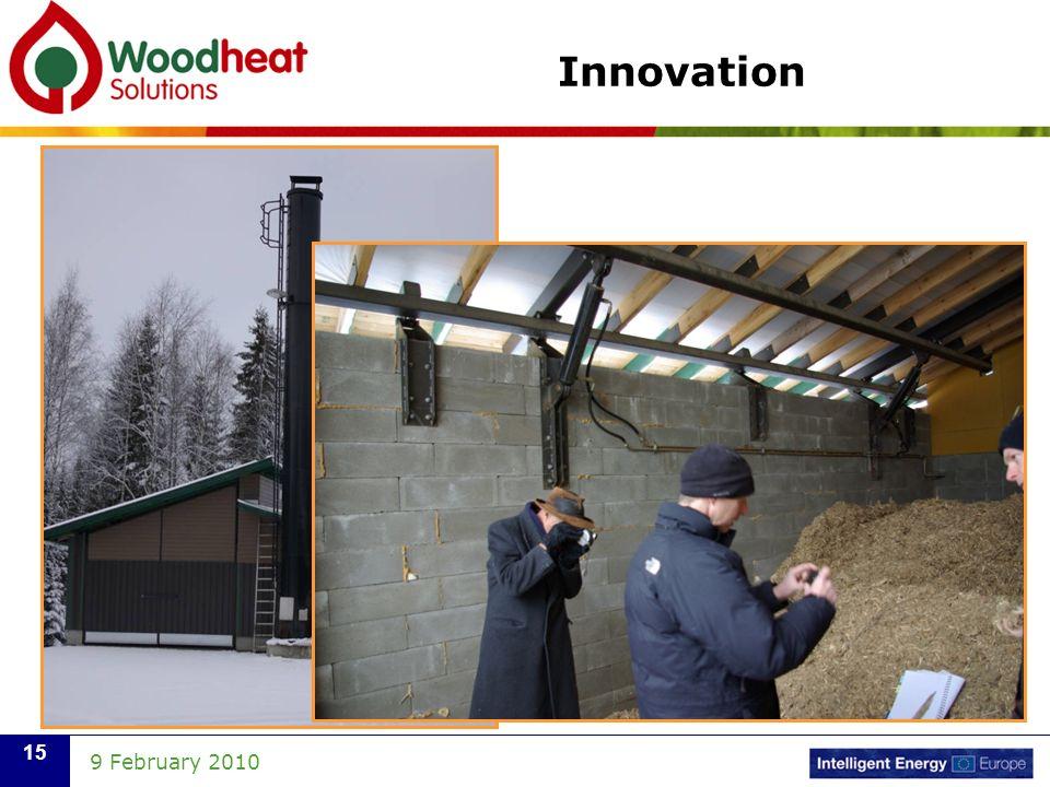 9 February 2010 15 Innovation
