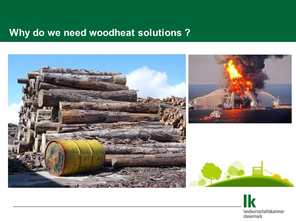Why do we need woodheat solutions