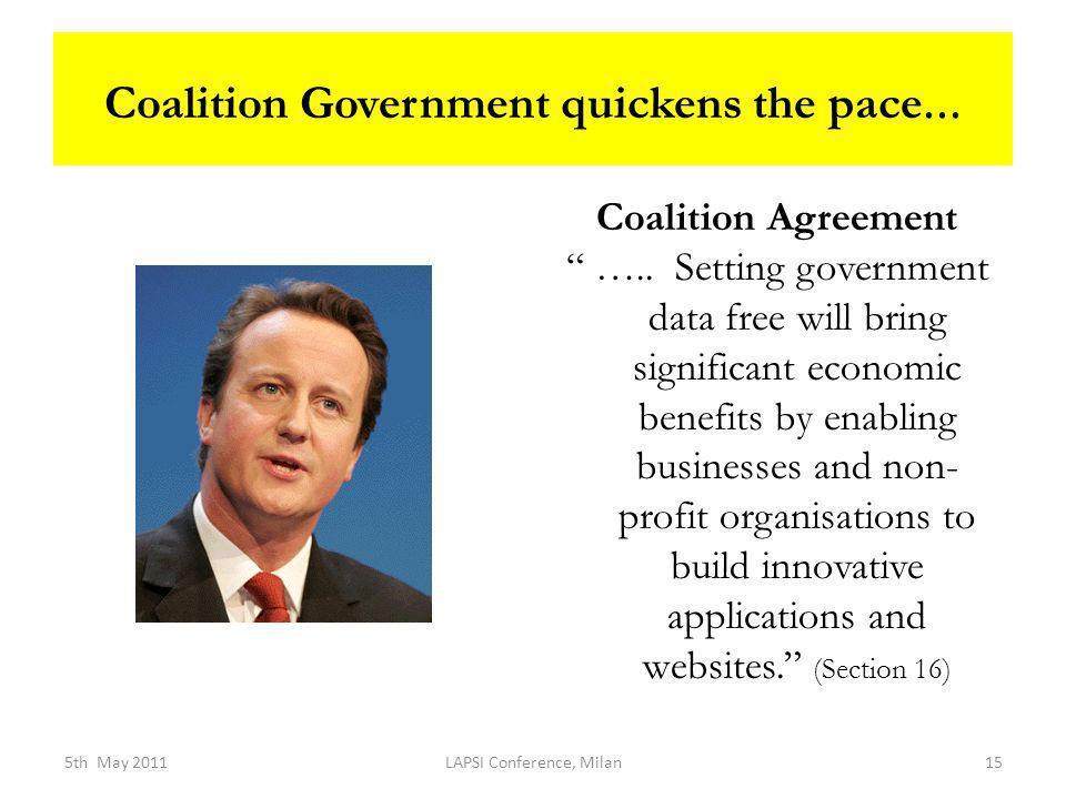 Coalition Agreement …..