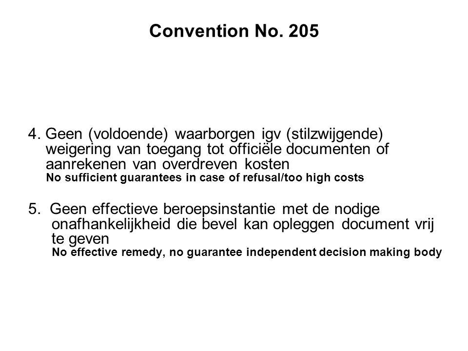 Convention No. 205 4.