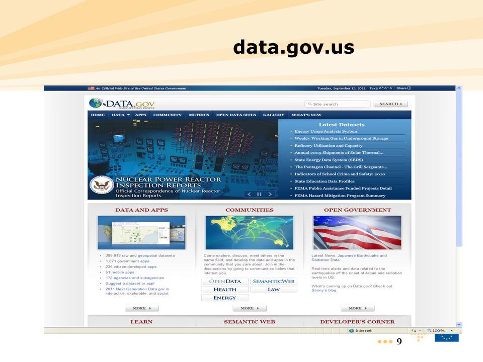 9 data.gov.us