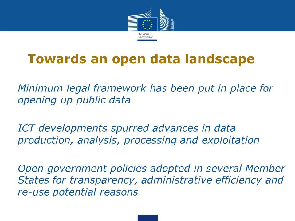 Open data – national level