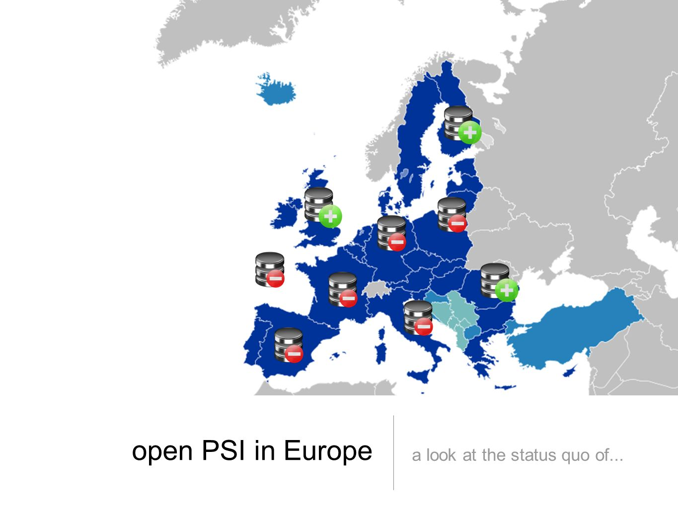 open PSI in Europe a look at the status quo of...