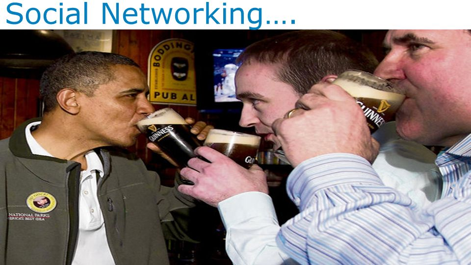 Social Networking….