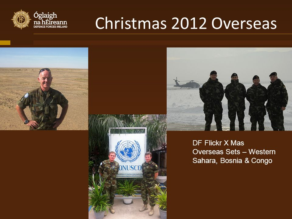 Christmas 2012 Overseas DF Flickr X Mas Overseas Sets – Western Sahara, Bosnia & Congo